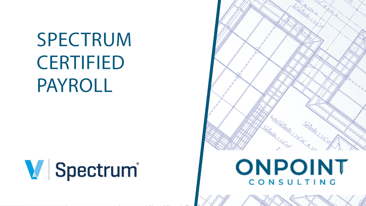 Viewpoint Spectrum Certified Payroll